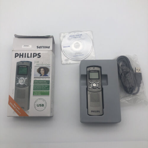 Philips Voice Tracer 7655 Digital Voice Recorder 128MB Memor