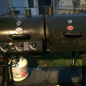 Charcoal and gas grill