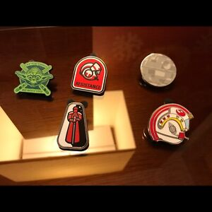 Star Wars lapel pins - new designs
