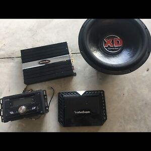 Car audio package