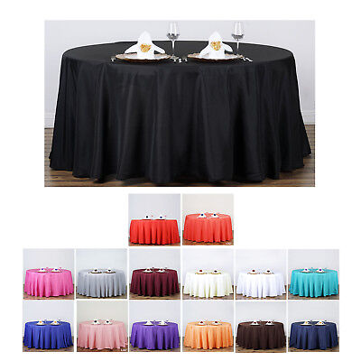 Round Party Tablecloths (132