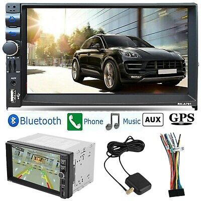 "Android 6.1 Car Stereo GPS Navigation Radio MP5 Player Double Din WIFI 7"" Inch"