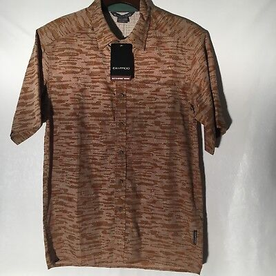 Exofficio Mens Next To Nothing Hachiko Button Down Short Sleeve Shirt NWT! for sale  Florence