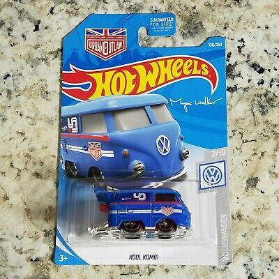 2019 Hot Wheels Kool Kombi Magnus Walker Blue Hw Volkswagen 2/10 136/250