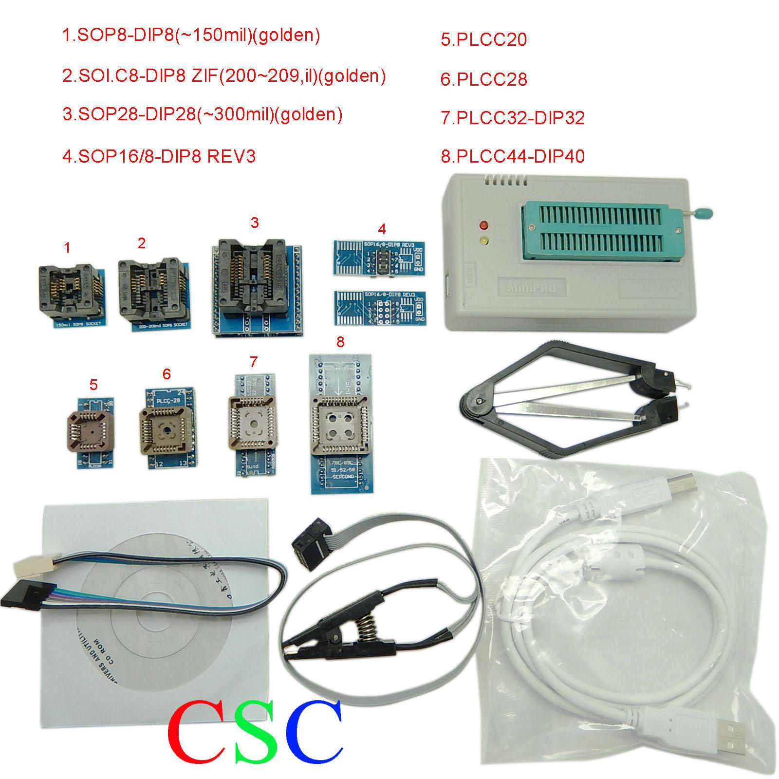 TL866A High Speed Programmer USB EPROM EEPROM FLASH BIOS Programmer