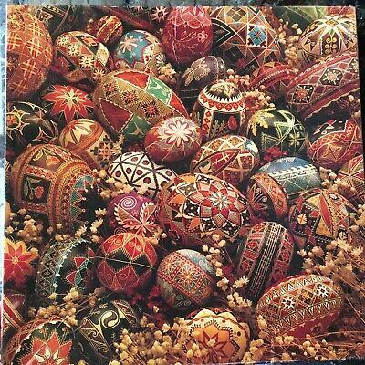 Vintage Springbok Puzzle / Elegant Eggs / 1988 / 500 Piece / COMPLETE