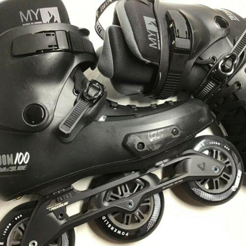 Powerslide Zoom Pro 100 Skates Size  9.0-10.0 (43-44)