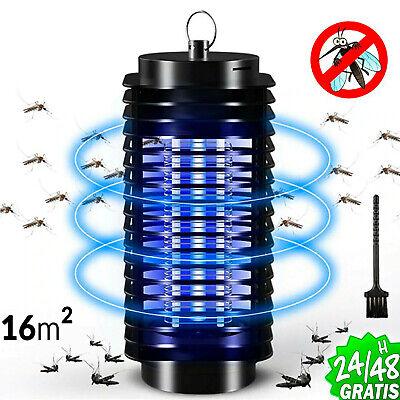Lámpara LED mata mosquitos moscas trampa eléctrica insecticida noche 220V 16 m2