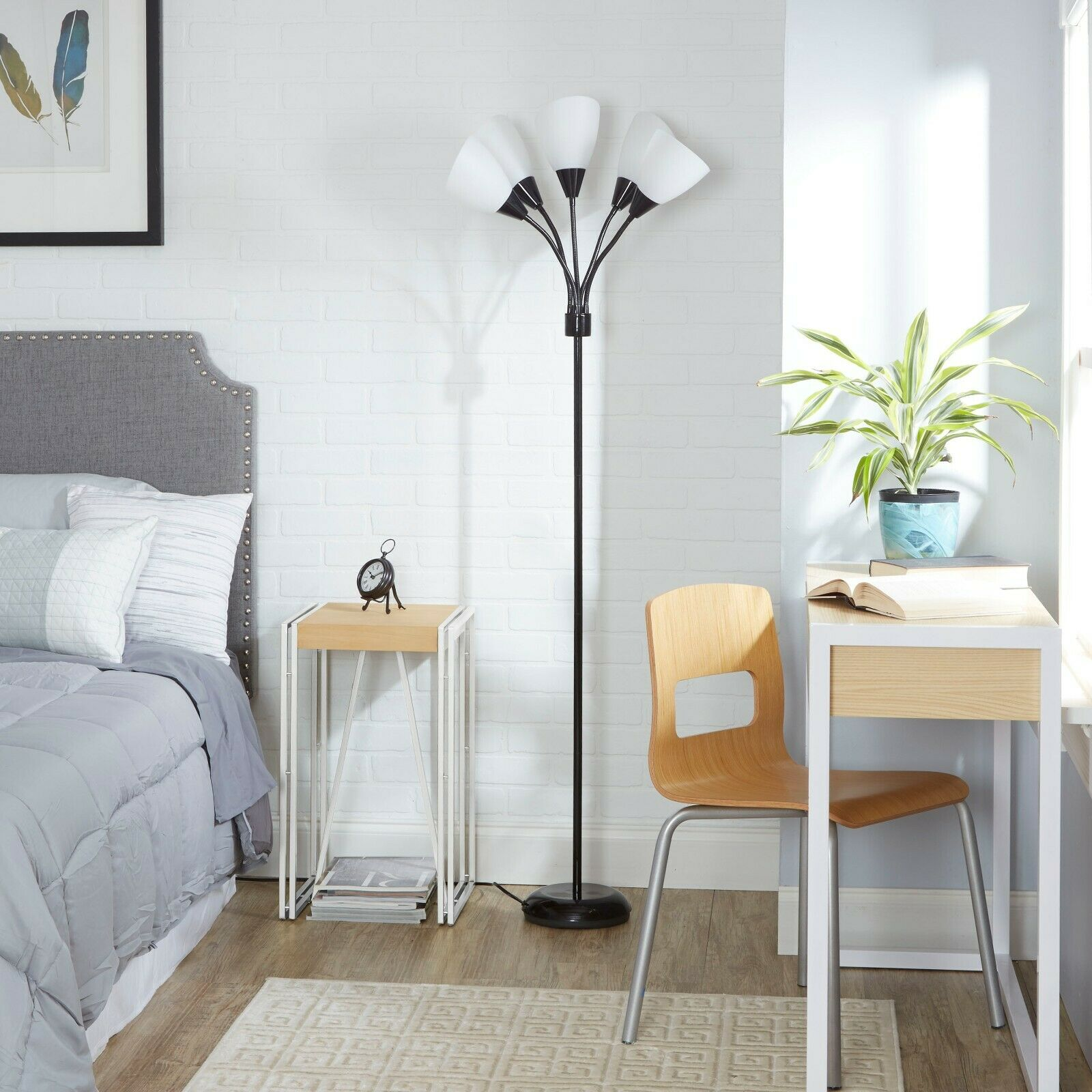 Floor Lamp Medusa 5-Light Standing Lamp Multi Head Standing
