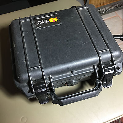 Pelican 1200 Case with Foam for Camera (Black) good condition