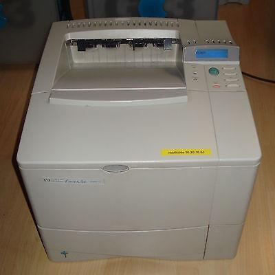 Hp B&w Laserjet (HP LaserJet 4000 A4 B/W Mono 600 x 300 dpi 17 PPM Laser Printer Parallel Serial)