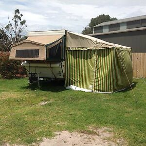 Jayco Dove pop top camper caravan and annex Warneet Casey Area Preview