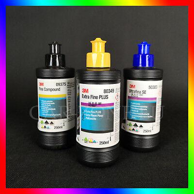 3M Ultrafina SE Anti Hologramm + 3M Fine Compound + 3M Extra Fine DHL EXPRESS (Ultra Fine Politur)