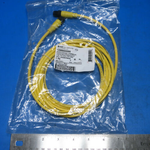 Molex Woodhead Brad Harrison 884030K05M030 Micro-Change Cable 1200660690 4P 3m