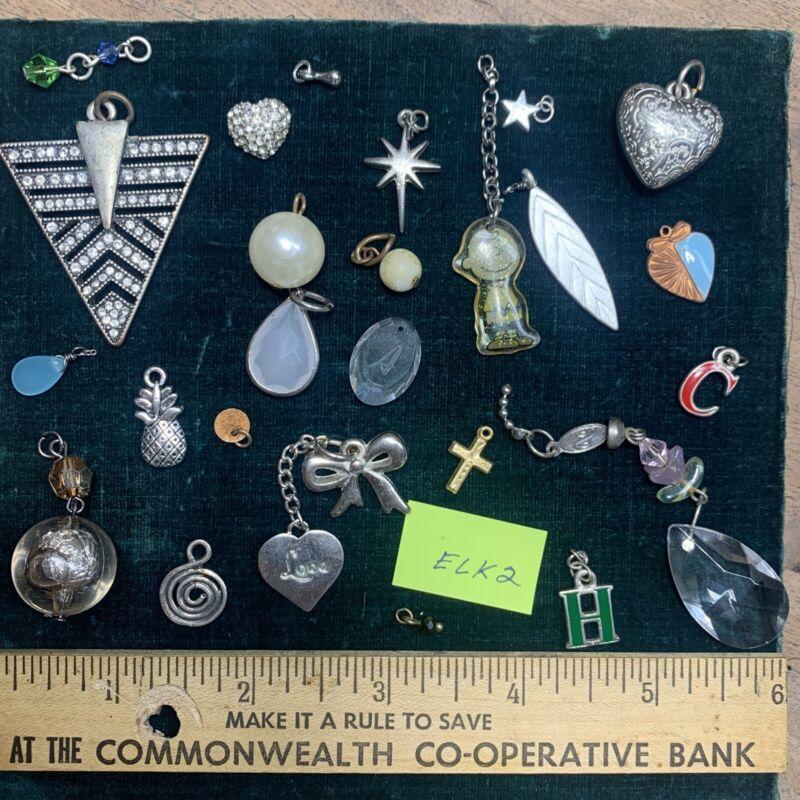 pendants, mixed jewelry items all assorted pendants — ELK2 — Jewelry Making