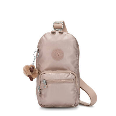 Kipling Blake Sling Backpack Quartz Metallic
