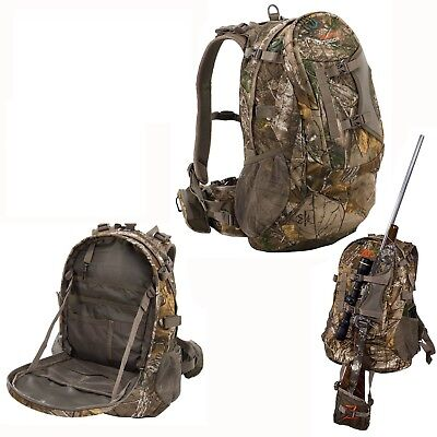 Hunting Backpack Bow Archery Rifle Hiking Camping Tactical Camo Bag Big Game Elk