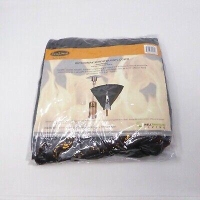 Outdoor Patio Heater Vinyl - NEW Fire Sense 2054 Black Vinyl Outdoor Patio Heater Head Vinyl Cover Fully Line