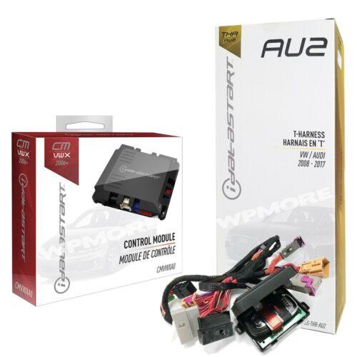 iDatastart VWX CMVWXA0 Remote Start Module + iDatalink ADS-THR-AU2 Audi VW 2008+