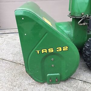 Commercial Quality John Deere Snow Blower