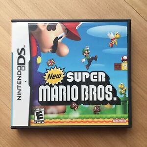 New Super Mario Bros. Nintendo Ds Video Game excellent condition