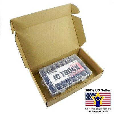 24value 500pcs Electrolytic Capacitor Assortment Box Kit Us Seller Kitb0048