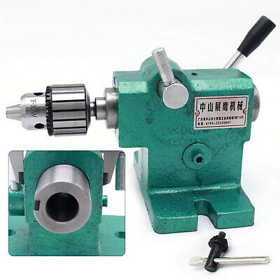 Lathe Tailstock Assembly Diy Simple Fast Expansion Spindle Tailstock Mt3