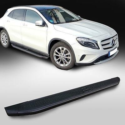 Mercedes GLA ab Baujahr 2013 Hochwertige Aluminium Trittbretter mit TÜV und ABE
