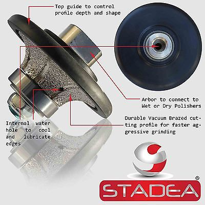STADEA Diamond Profile Wheel 9/16