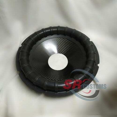 Subwoofer cone 3` 15` CARBON RIBBED