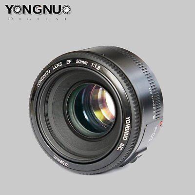 Yongnuo 50mm F1.8  Auto Focus Standard Large Aperture Lentes para Canon EF EOS segunda mano  Embacar hacia Mexico