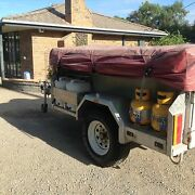 Camper Trailer Full Alloy Semi Off Road Crib Point Mornington Peninsula Preview