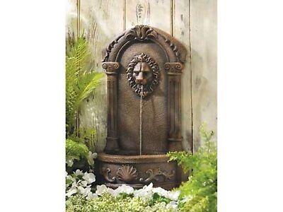 Lion Principal Courtyard Water Fountain Garden Decor - New