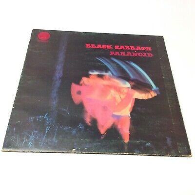 Black Sabbath 'Paranoid' UK 1st/2nd Pressing (No Big Bear 1Y/2Y) Vinyl LP G+/VG