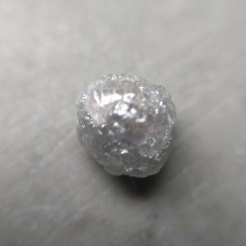 Lovely 1.18 Carat Water White Color FL Clarity Delightful Natural Rough Diamond