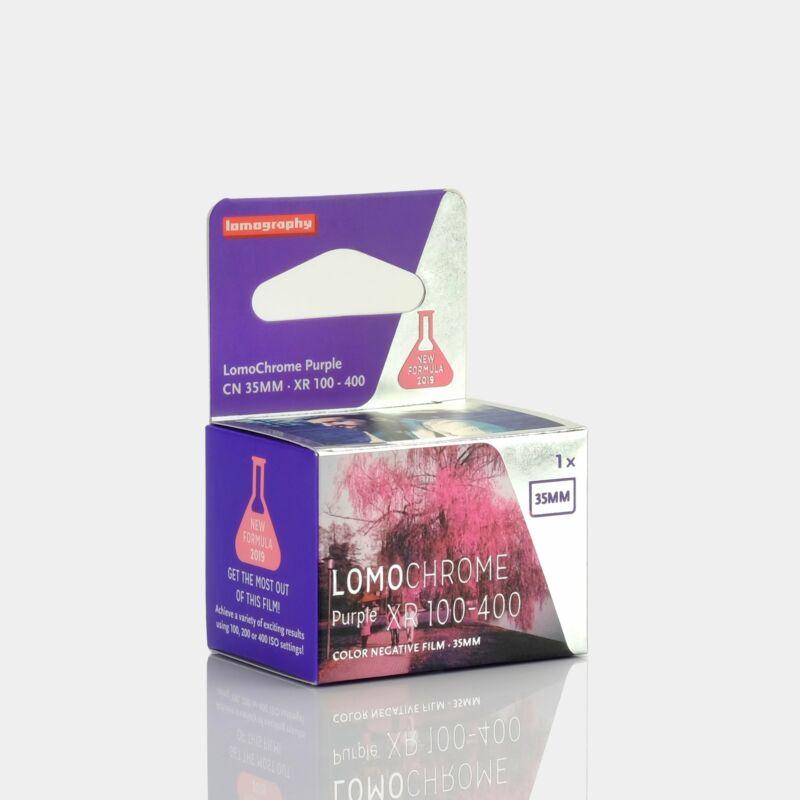 Lomochrome Purple ISO 100-400 35mm Film (36 Exposures)