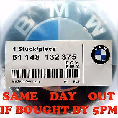 BMW Front Bonnet Boot Rear Logo Badge Emblem 1 3 5 6 7 Z3 X6 X5 E Series 82mm