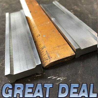 Vintage Machinists Steel Setup Parallel Block Pair