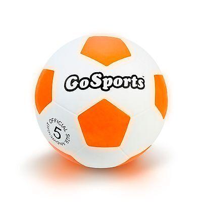 GoSports LED Light Up Soccer - Light Soccer Ball