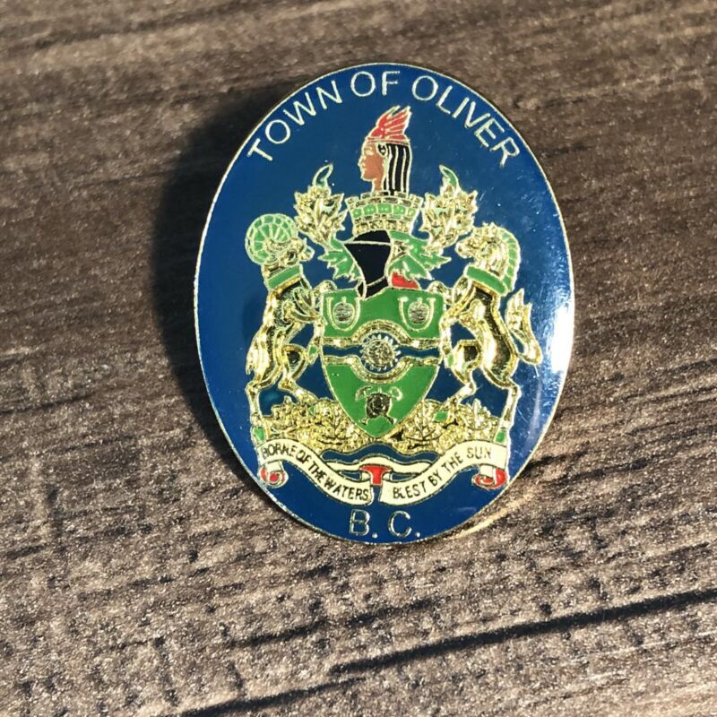 Town of Oliver Canada Lapel Pin