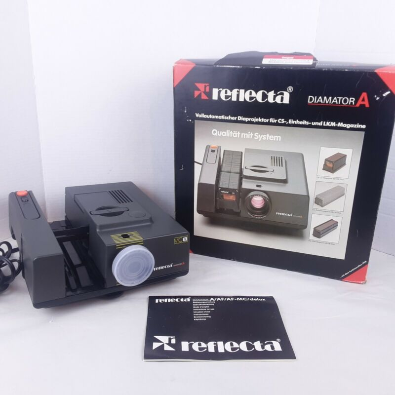 Reflecta Diamator A 35mm Slide Projector Type 1001 as is