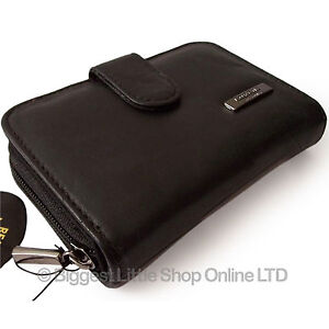 New-Black-Ladies-Leather-Purse-Wallet-TOP-QUALITY