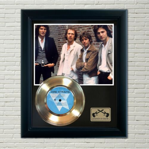 "Dire Straits ""Walk Of Life"" Framed 45 Gold Record Display"