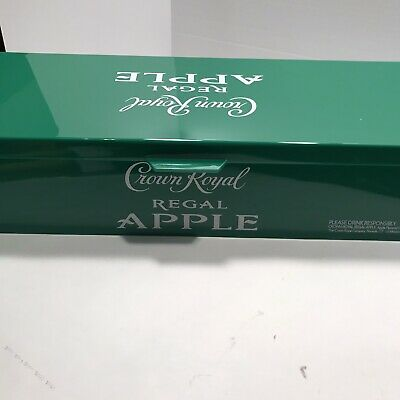 Rare Crown Royal Regal Apple Condiment Caddy Bar Tray