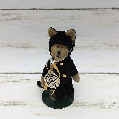 Boyd's Bears Plush T. F. Wuzzies Treat F. Wuzzie Halloween Cat Plush 596002 - T&f Halloween