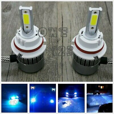 Vista 1 Bulb (NEW 9004 HB1 8000K ICE BLUE 8000LM CREE LED Headlight Bulbs Kit High Low Beam )