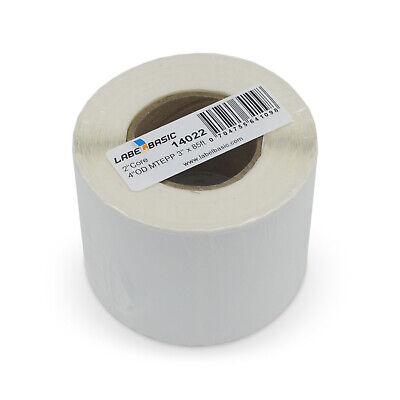 Labels For Primera Lx400 Printer 3 Continuous Label Rolls 100 Ft Matte Polyp...