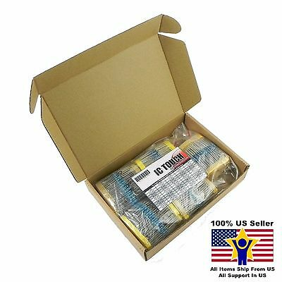 50value 1000pcs 12w Metal Film Resistor Assortment Kit Us Seller Kitb0076