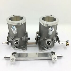 45IDA Throttle Bodies replace 45mm Weber and dellorto carb Fit 1600cc Injectors