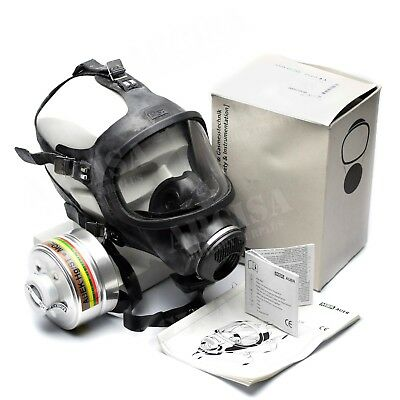 MSA AUER 3S full face mask protection respirator Brand new Full (Full Face Mask Respirator)